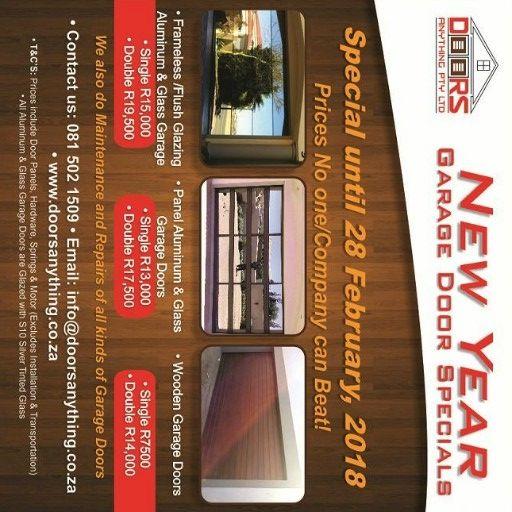 New year Garage doors Special
