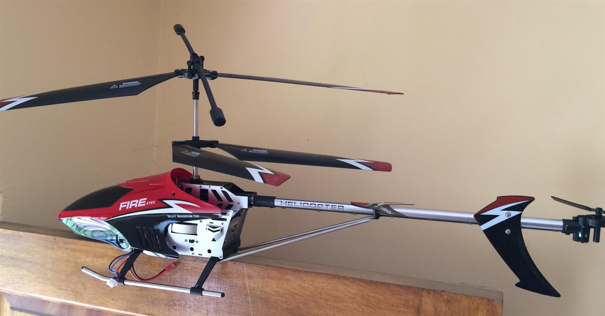 GYRO Hercules Unbreakable 3.5CH Electric RTF RC Helicopter - giveaway price!