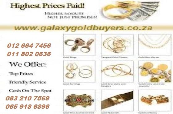 Gold pieces we buy