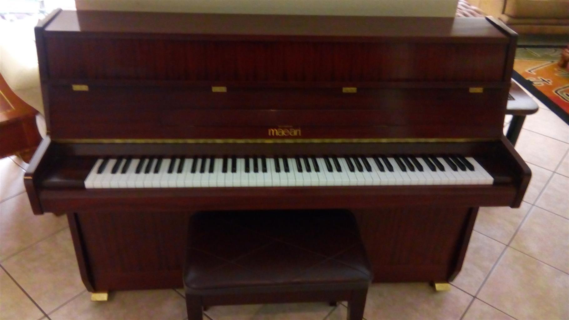 Pre-owned Maeari upright piano
