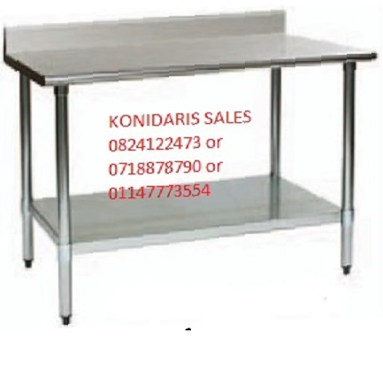 ALL BUTCHER EQUIP  Stainless Steel Tables""