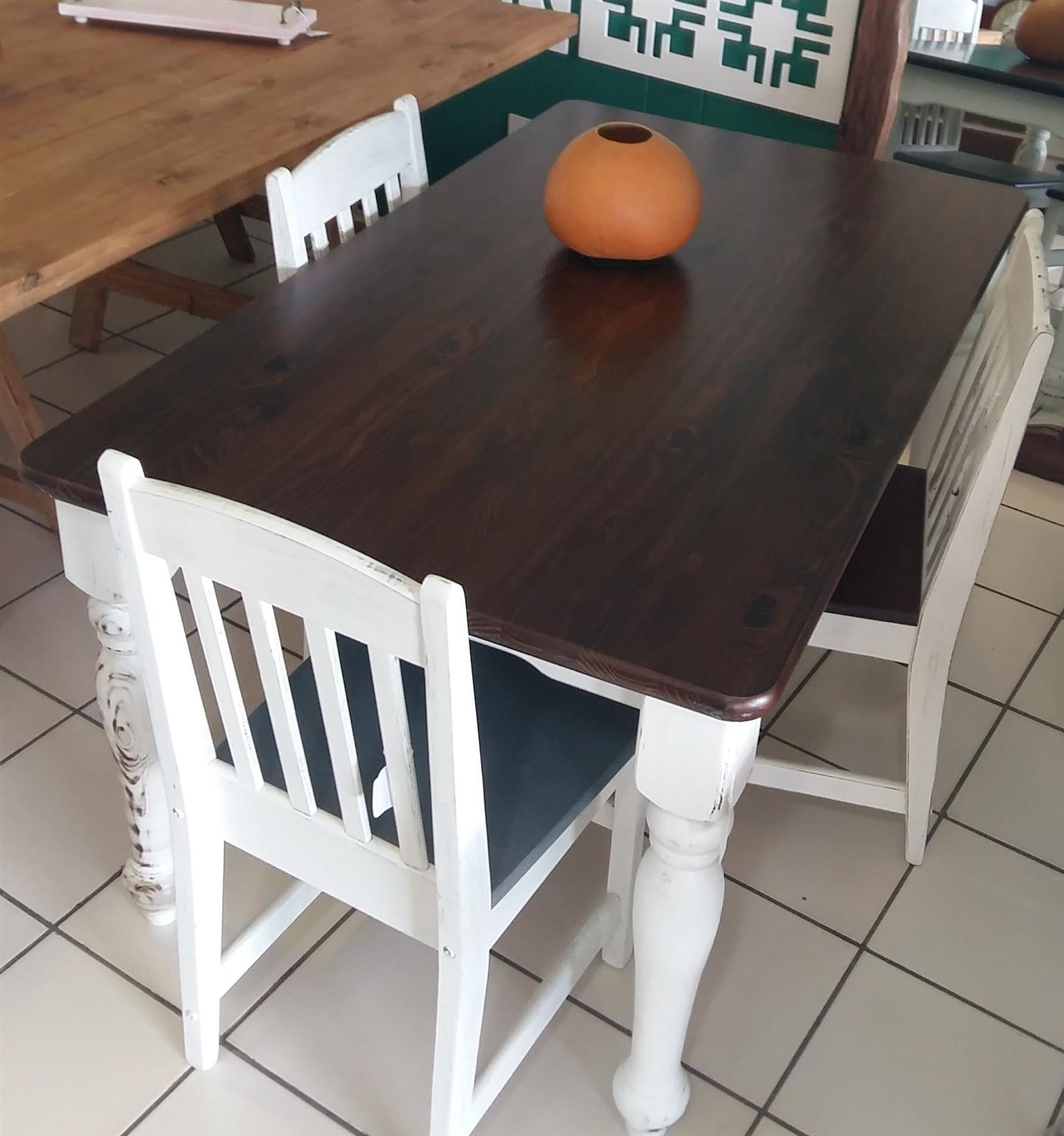 1500 x 900 Pine Dining Room Table - Van Ouds
