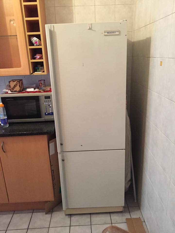 mercury fridge freezer