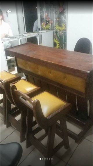Bar counter and bar stools for sale