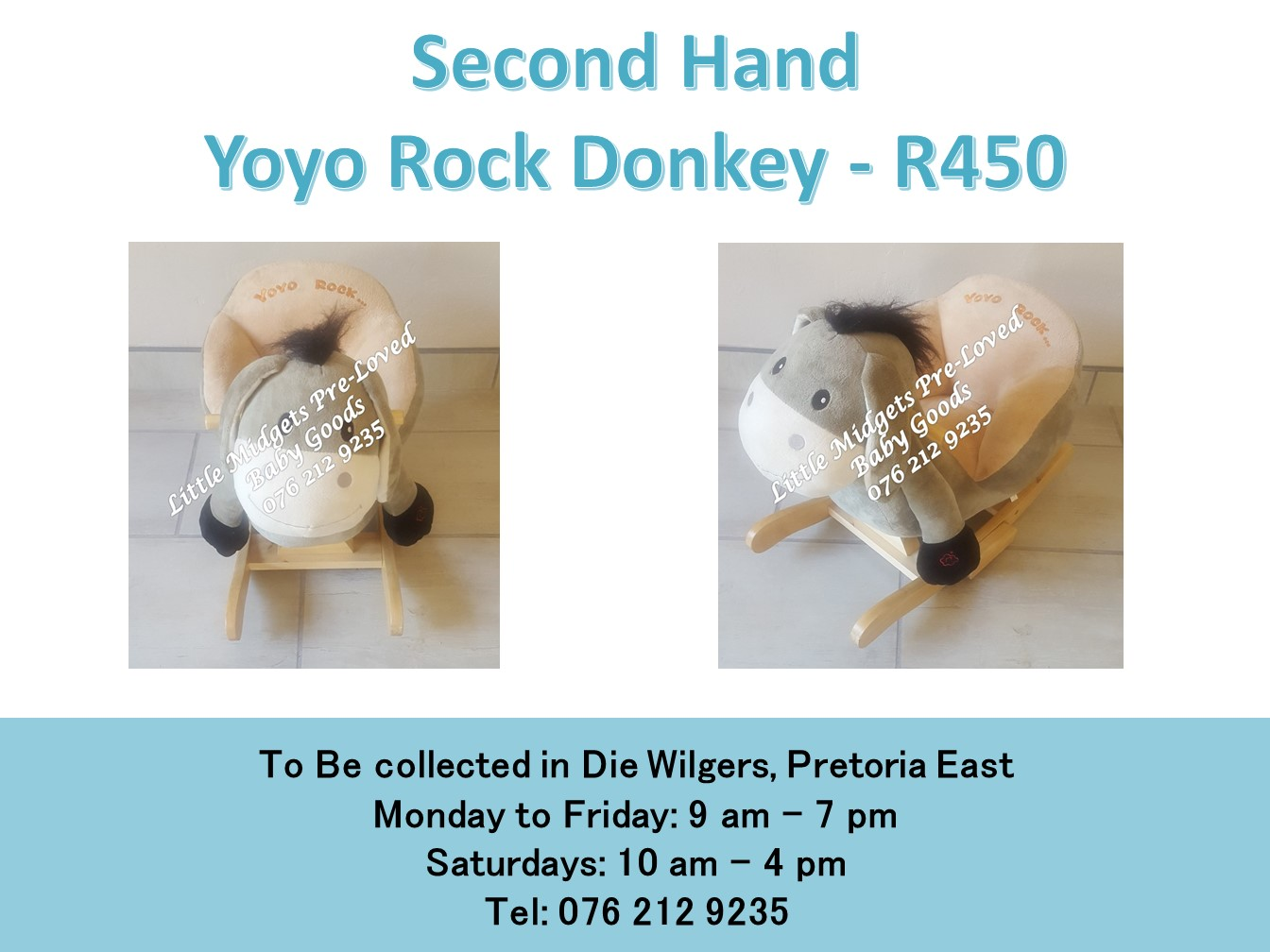 Second Hand  Yoyo Rock Donkey