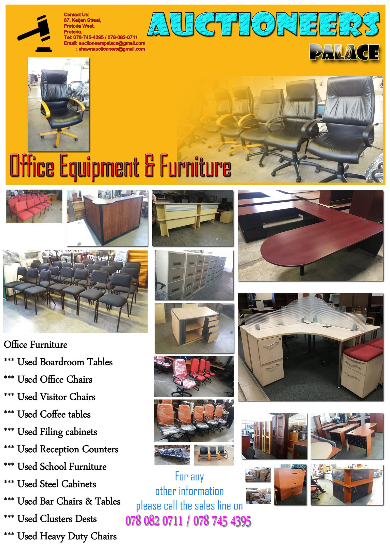 Office Equipment & Furniture