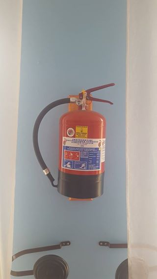 New 4.5kg Fire Extinguisher