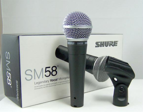 Shure SM58LC corded microphone,NEW. Limited Stock.