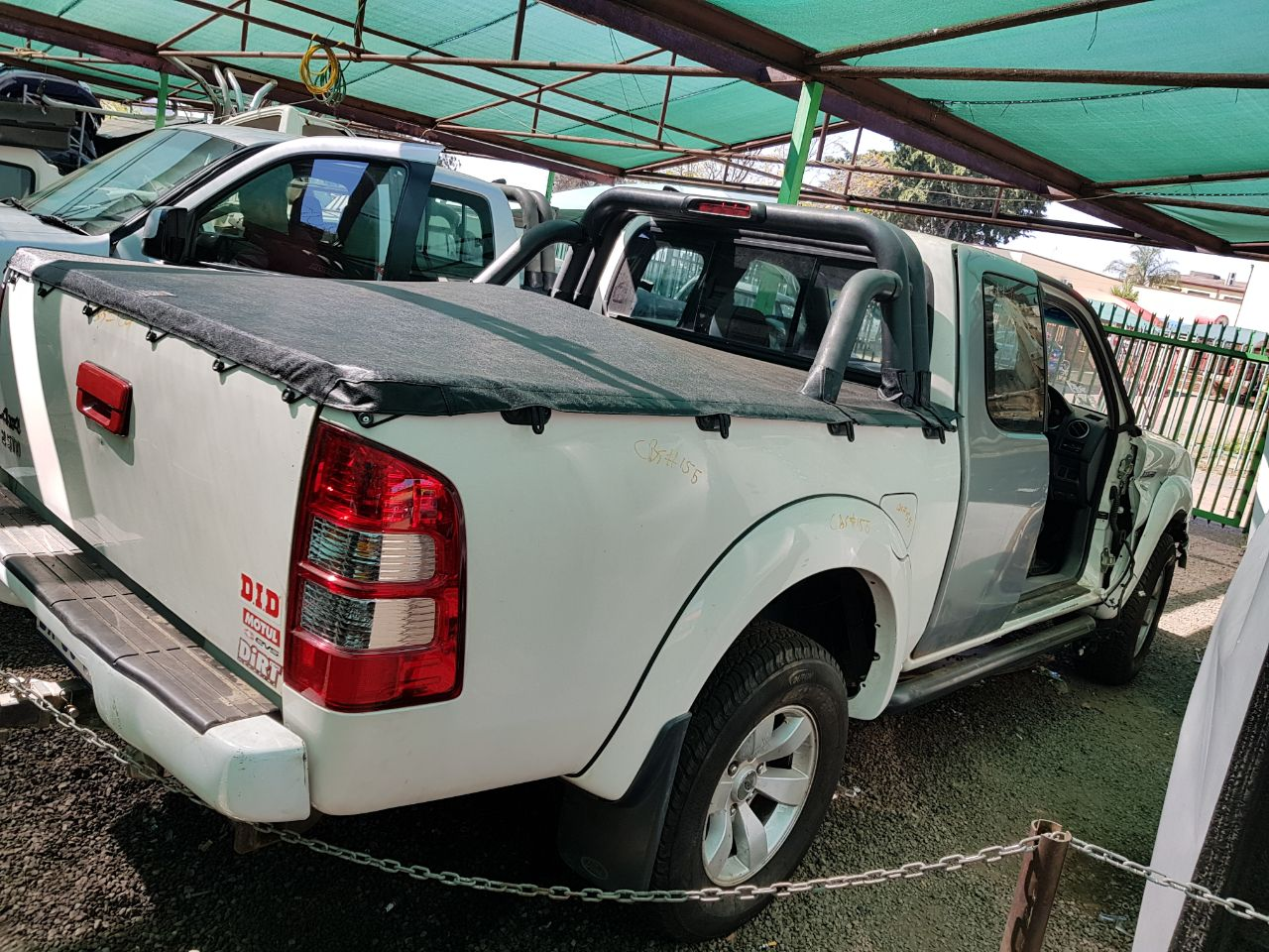 Ford Ranger 3.0L TDCI 4x4 2008 model striping for spares