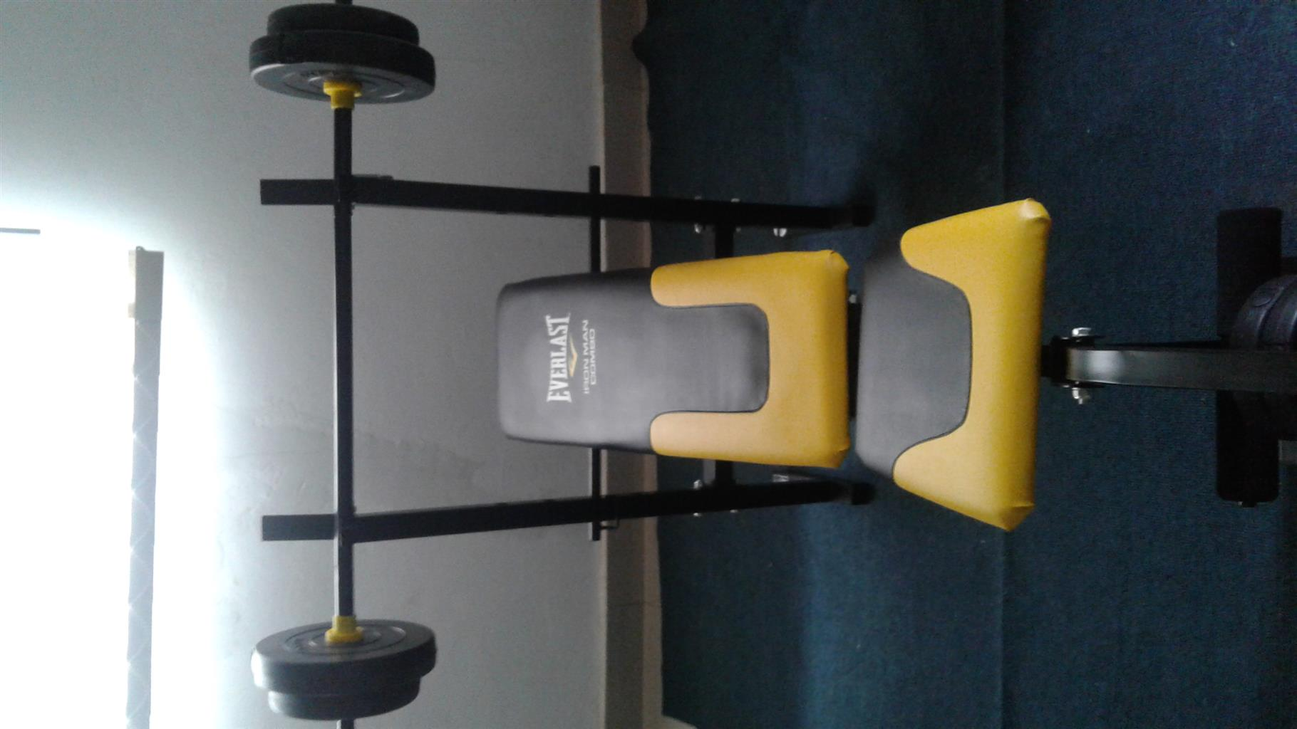 20kg bench press with weight
