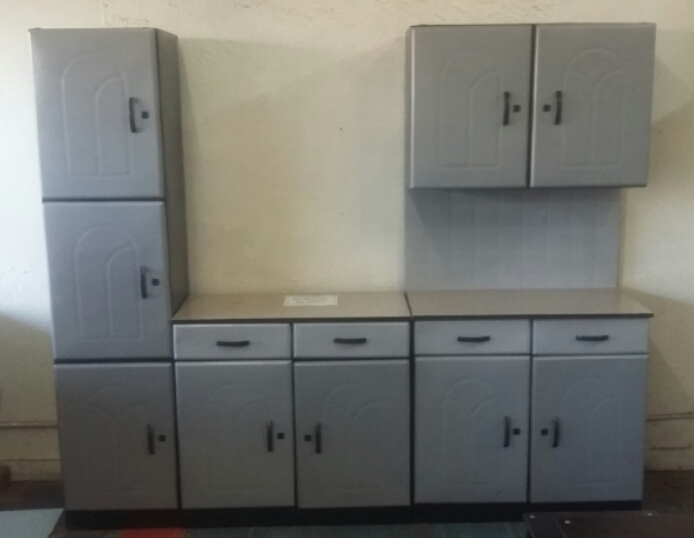 Bargain !! 3 Piece Steel Kitchen Cupboards