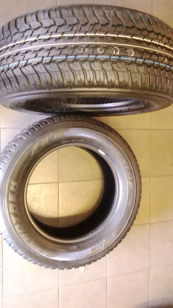 265/60/18 new tyres 4x dunlop grandtek all terrain for your bakkie or suv r7499
