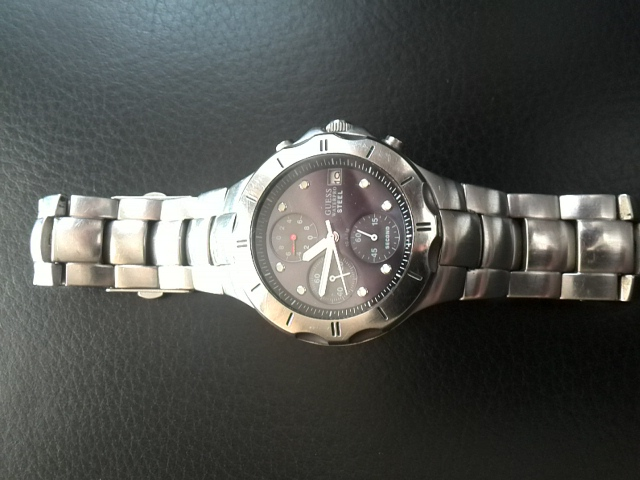 Mens Guess Divers Watch