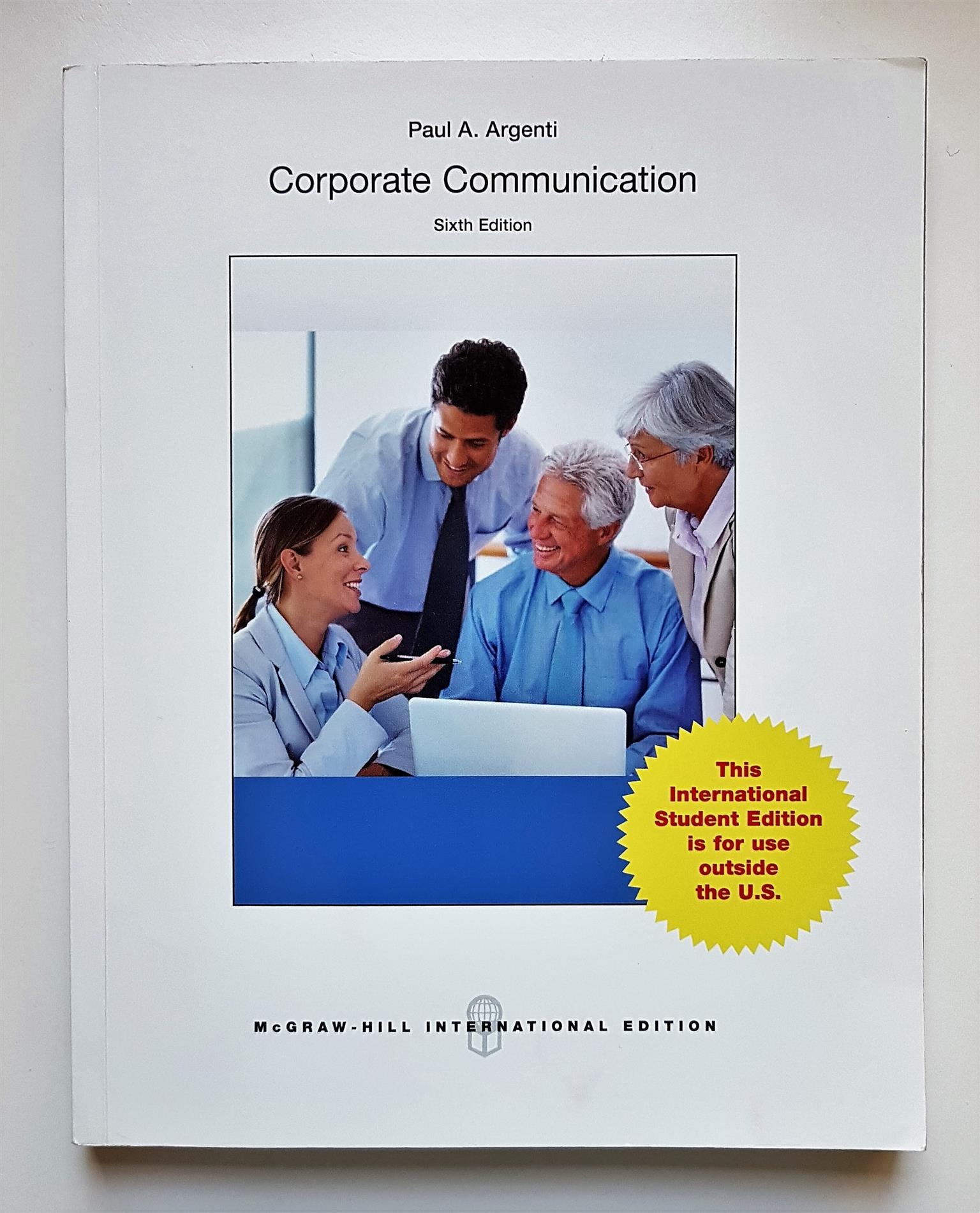 Corporate Communication - Paul A. Argenti