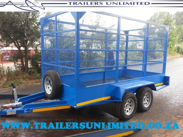 DOUBLE AXLE UTILITY TRAILERS UNLIMITED.