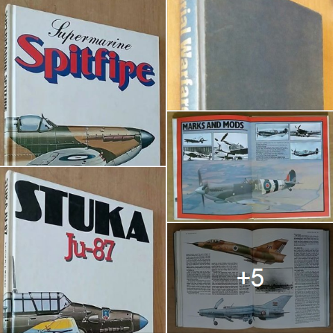 Supermarine Spitfire. R200 for the lot.