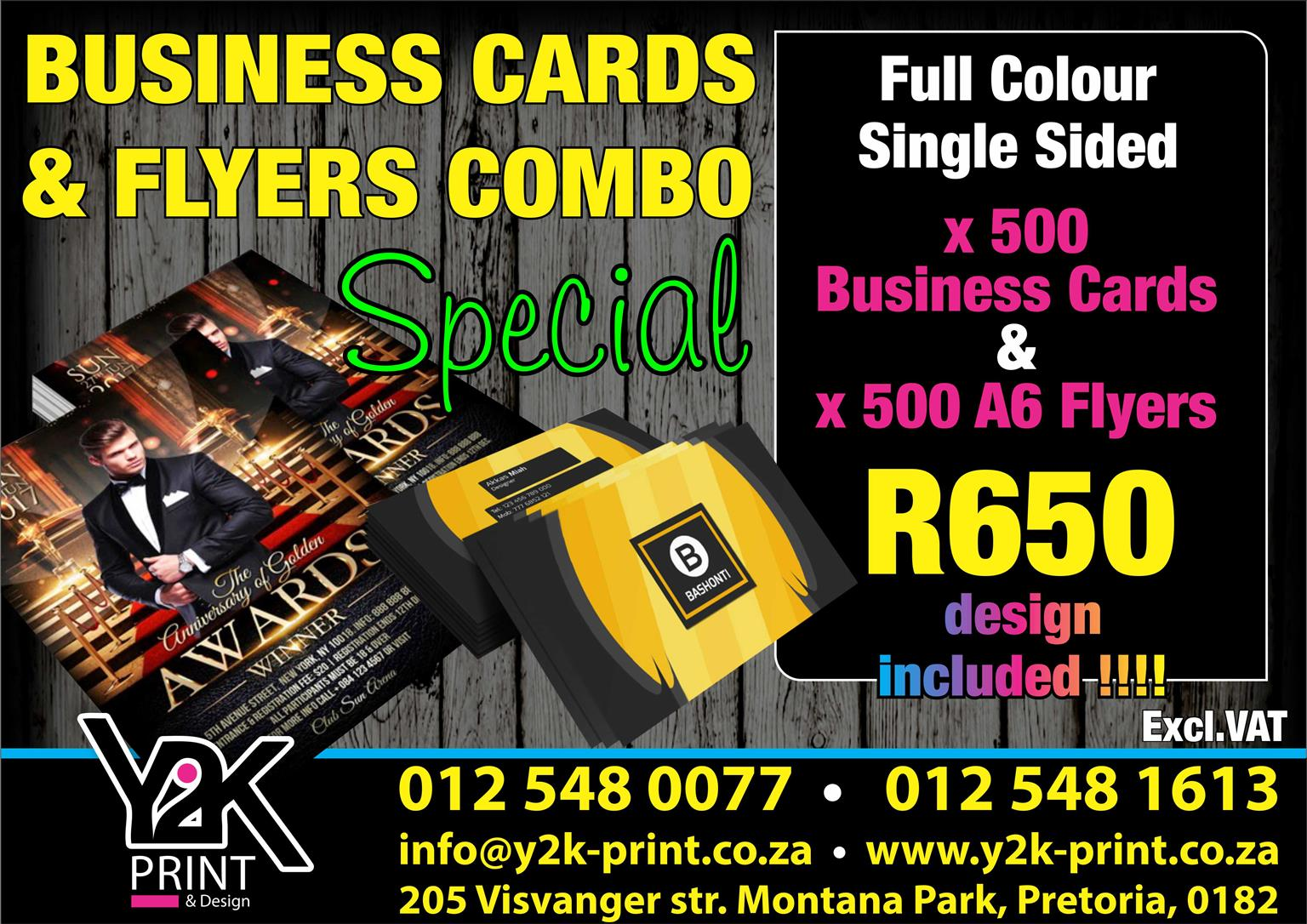 Business cards flyers full colour single sided junk mail business cards flyers full colour single reheart Image collections