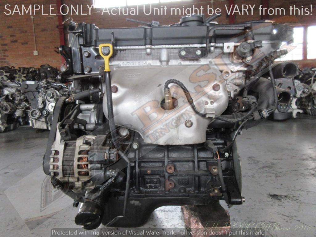 Kia Rio G4ed 16l Cvvt 16v Engine Aluminium Intake Manifold Junk 1 6l