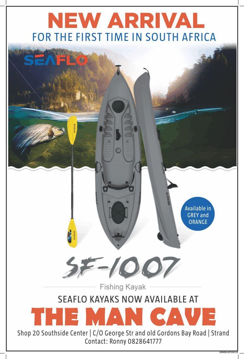 Seaflo fishing kayak