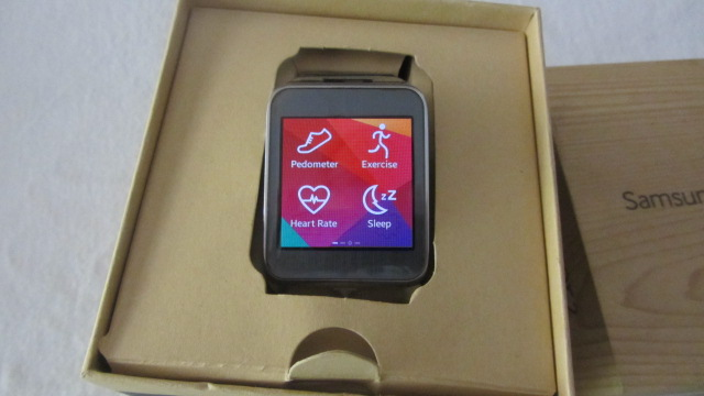 Samsung Galaxy Gear2 SM-R380 with Heart Rate Sensor