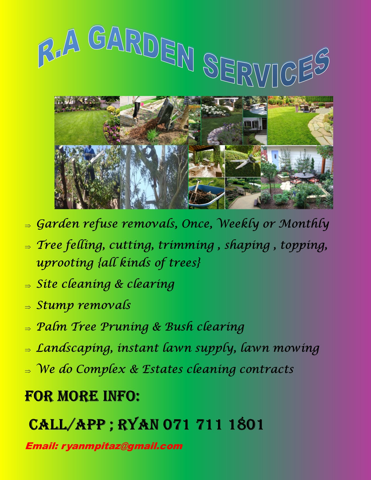 We deliver and install Instant lawns, lawn dressing, compost, landscaping mix