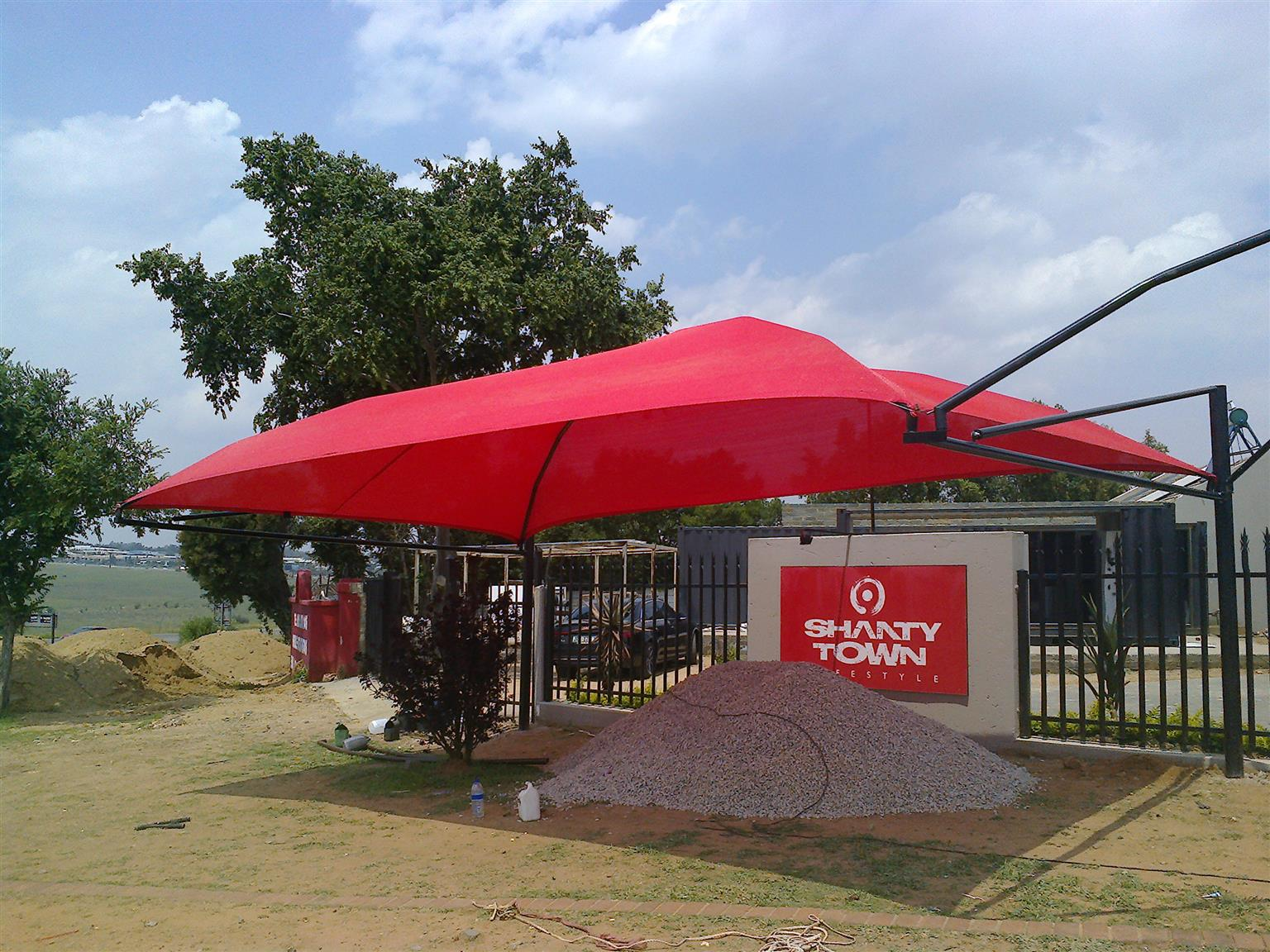 SHADEPORTS AND CARPORTS FROM R4000