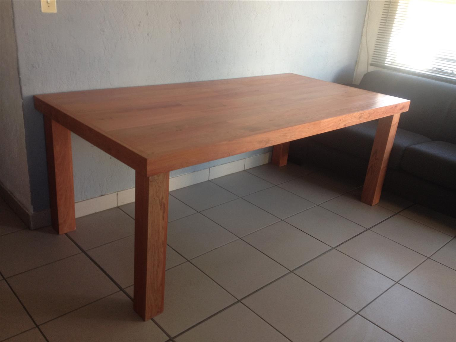 2115 X 1025 Solid Rosewood Dining Table for sale