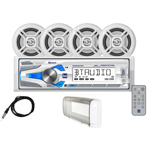 Dual Marine Sound System For Boats