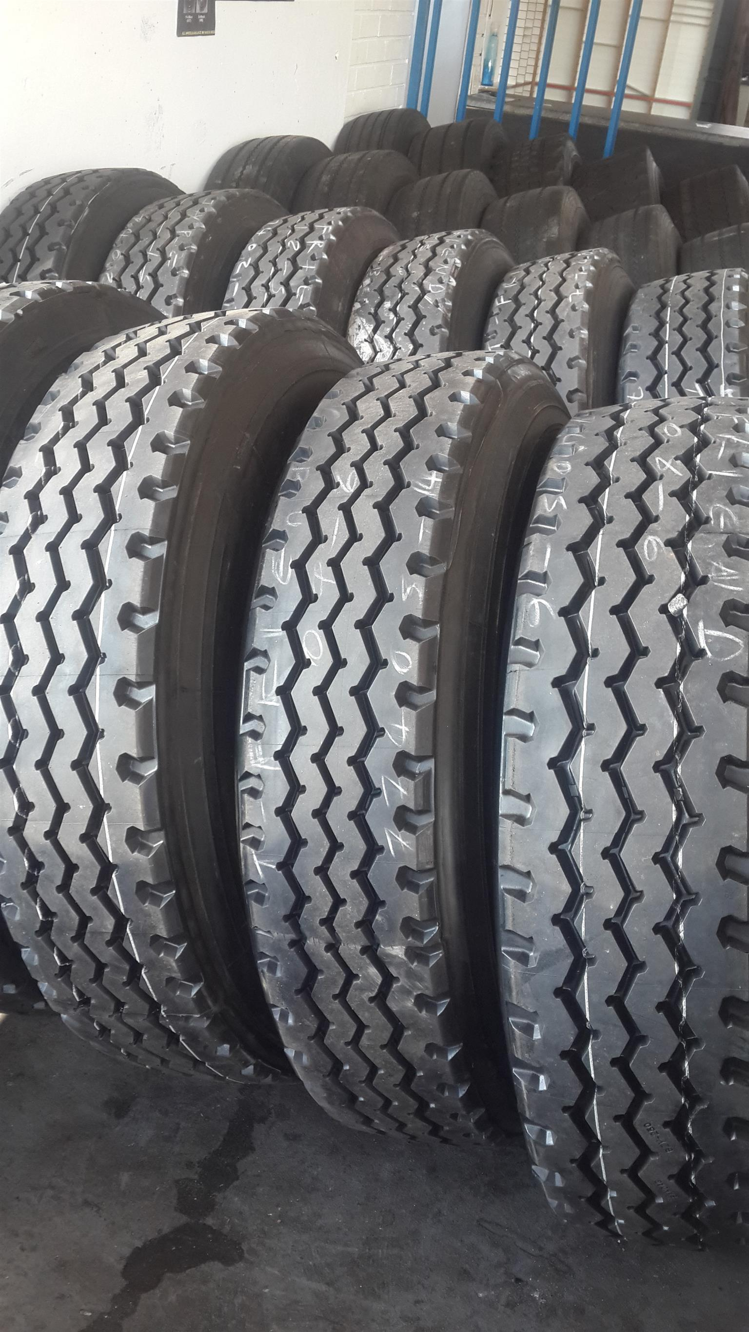 USED TRUCK TYRES-RETREADS-NEW TYRES