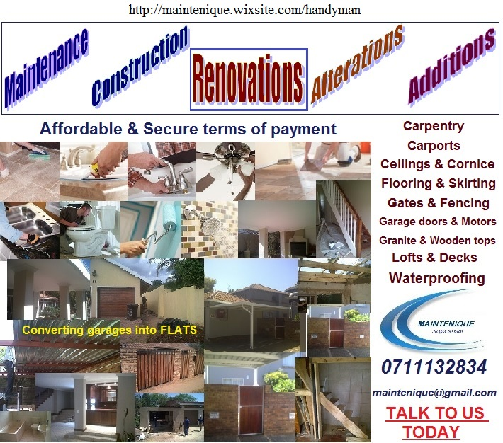 Property Maintenance Renovations & Handyman Services