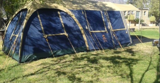 Canvas Tent - Bushtec Mansion. Huge 6.6m x 3m Very good condition