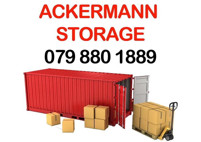 STORAGE and Self - Storage