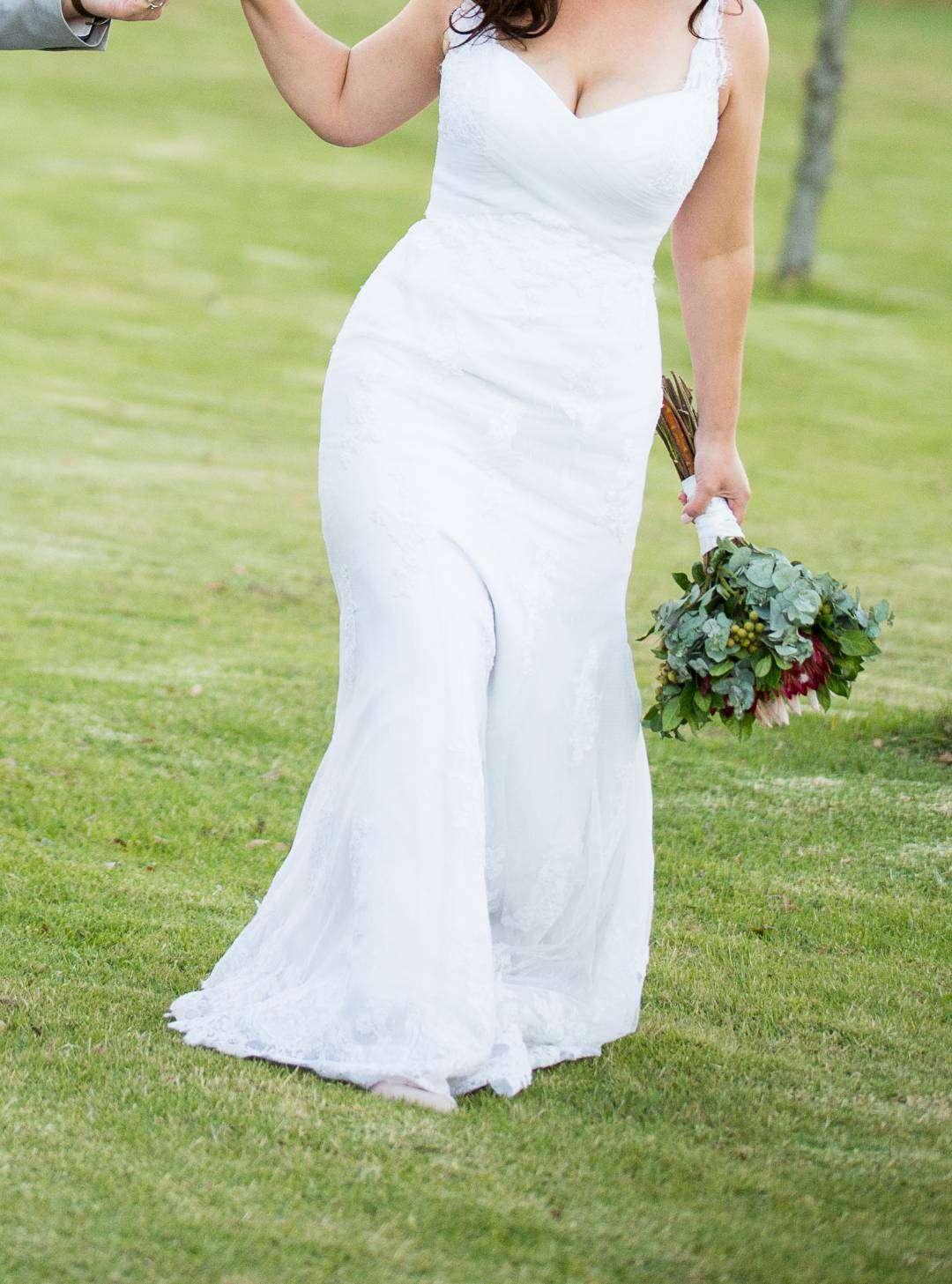 Oleg Cassini collection wedding dress