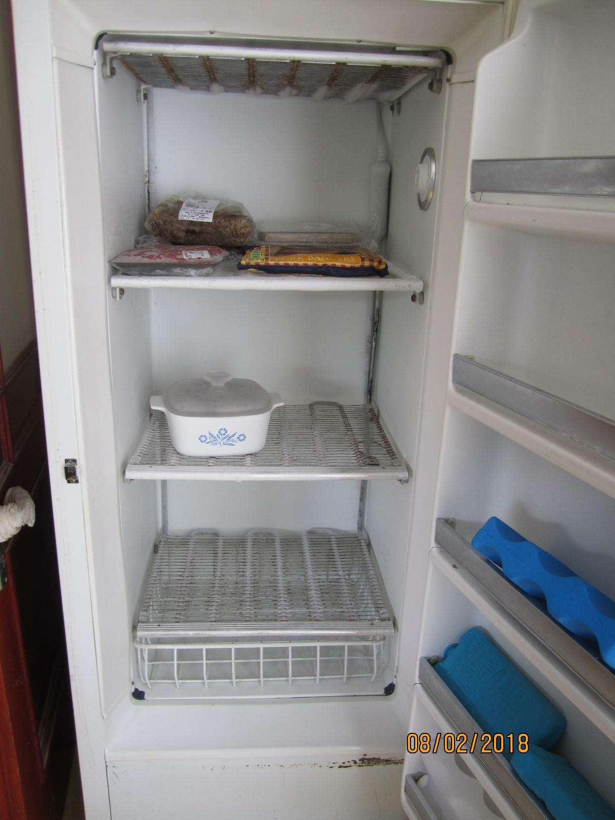 Norge upright freezer