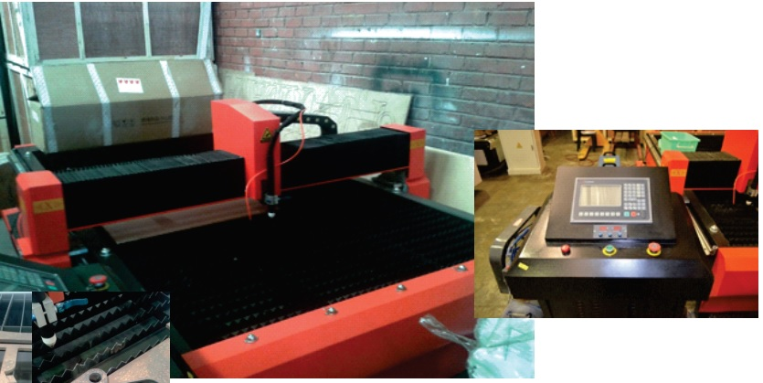 CNC Plasma Cutter with 100amp Power Supply