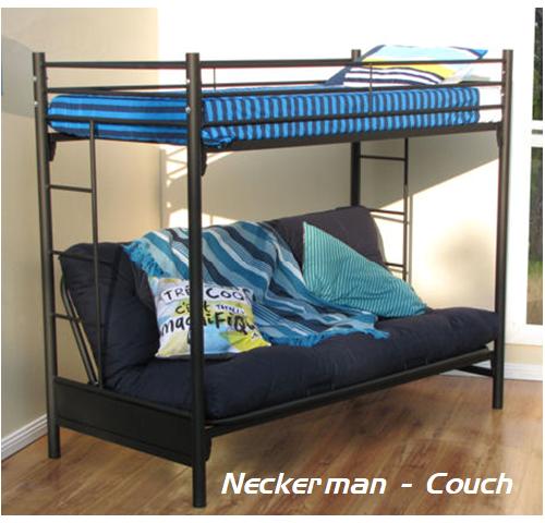Navada Steel Sleeper Couch Bunk Bed
