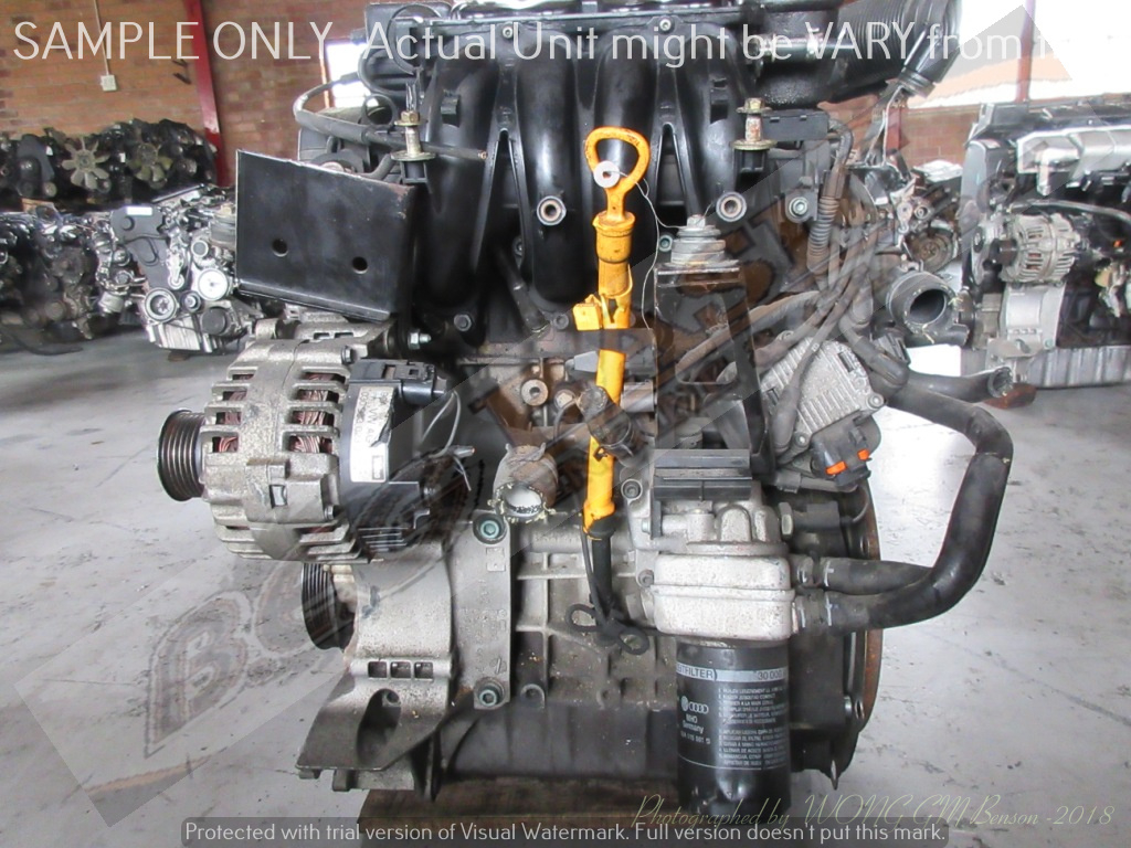VOLKSWAGEN GOLF 4 -AEH 1.6L EFI 8V Engine