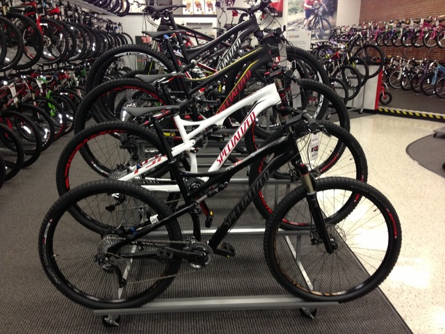 Specialized - Trek and Cannondale Bikes