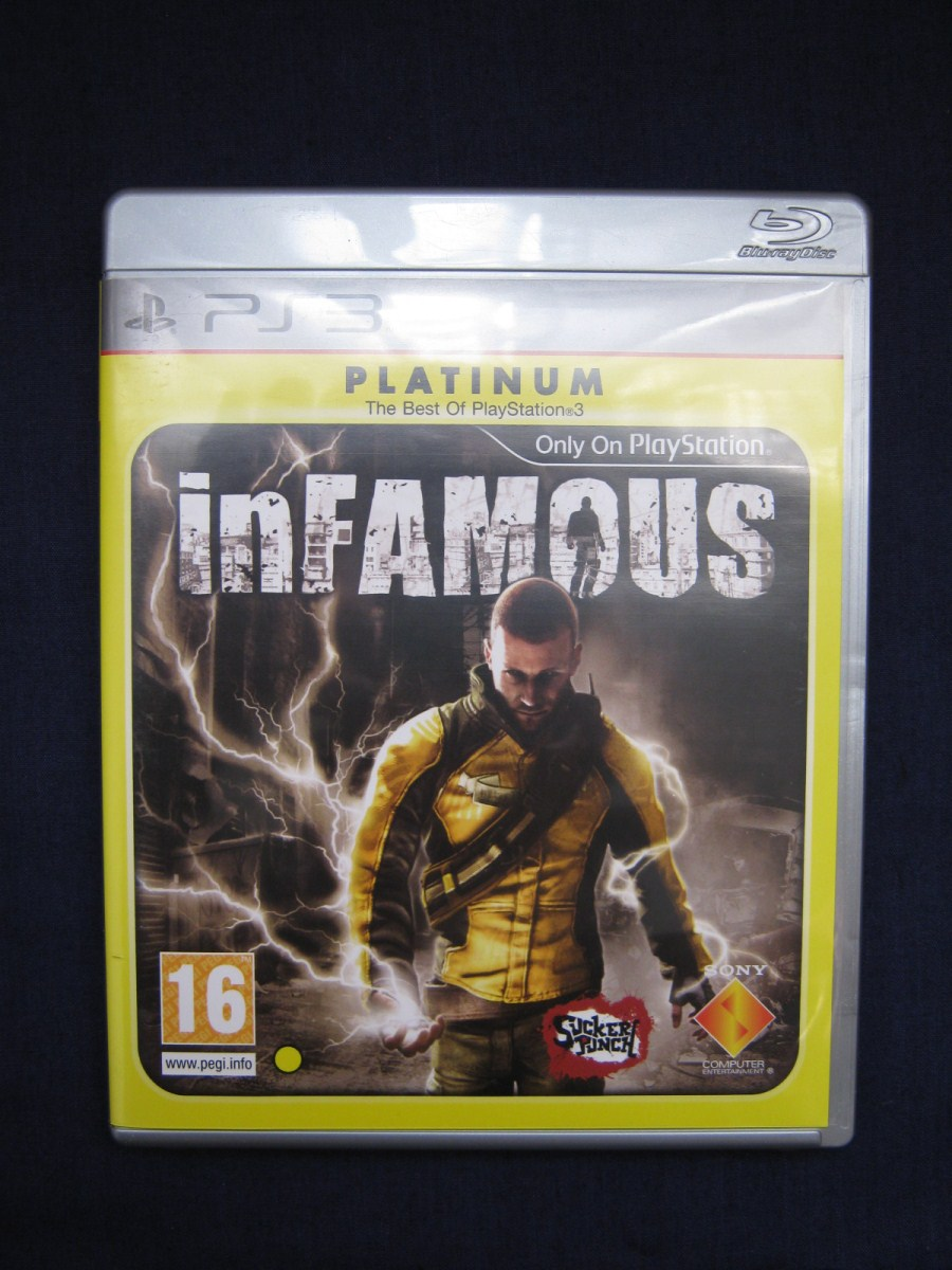 Infamous Ps3 Game