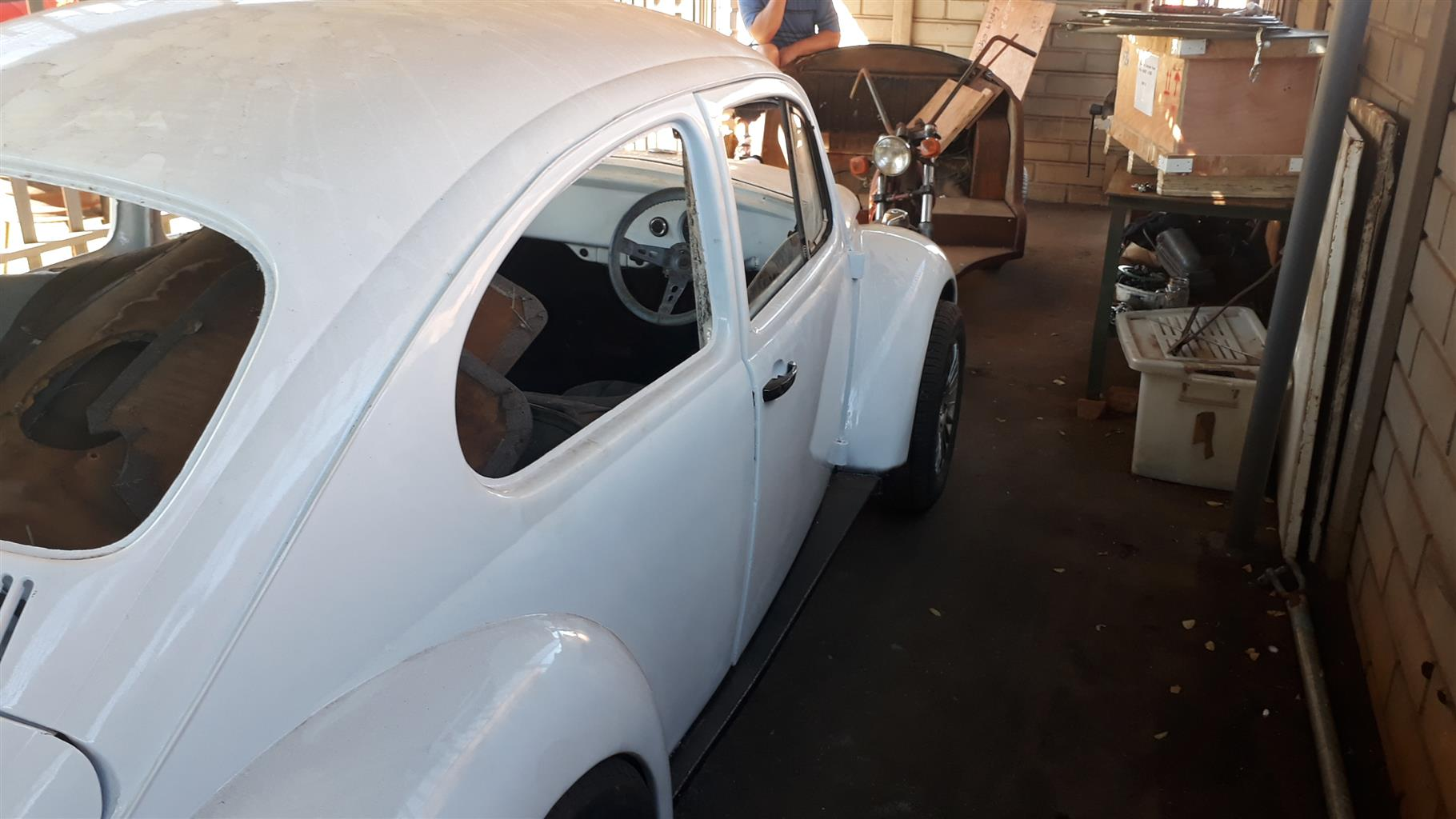 1960 Vw Beetle 20 Junk Mail Volkswagen Interior