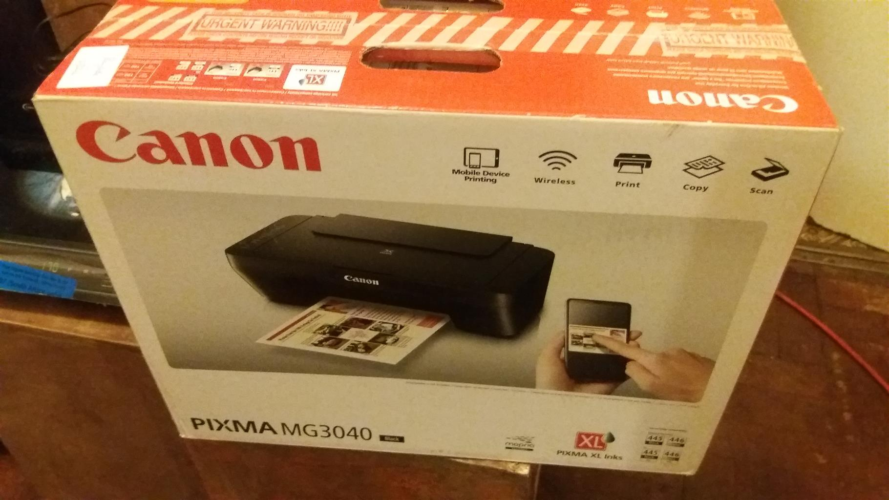 Canon Pixma MG3040 Clearance of Units