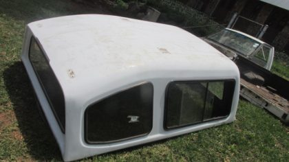 Isuzu KB Single Cab Canopy White For Sale