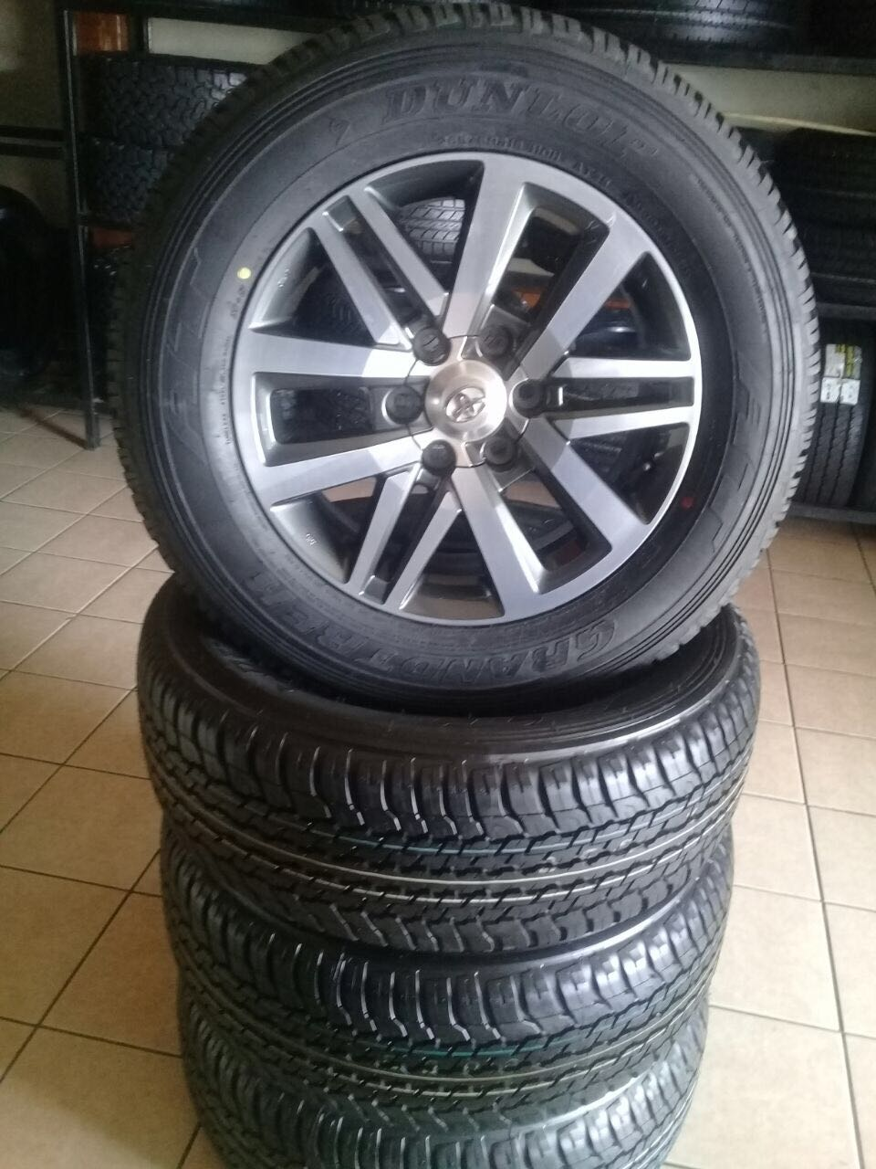 """New fortuna 265/60/18"""" tyres and mags for 13999, brand new tryes and rims all in perfect condition (set of four)"""
