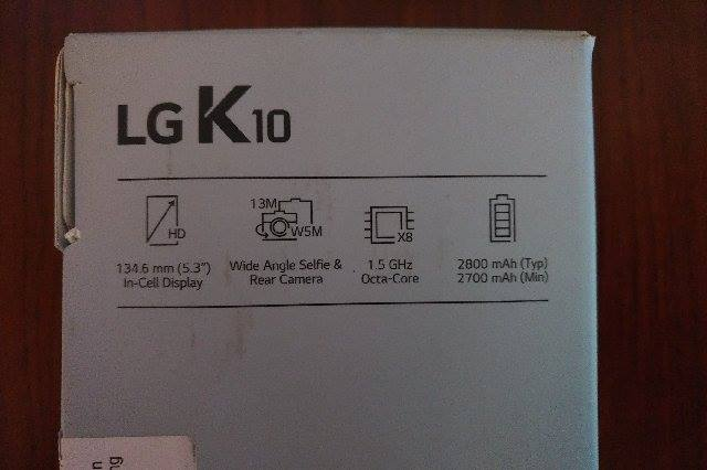Brand new LG K10 phone with case for sale