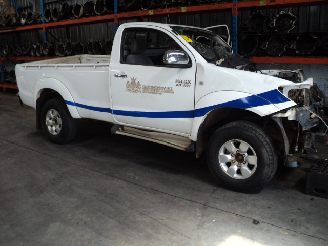 2007 Hilux 2.7 VVTI stripping
