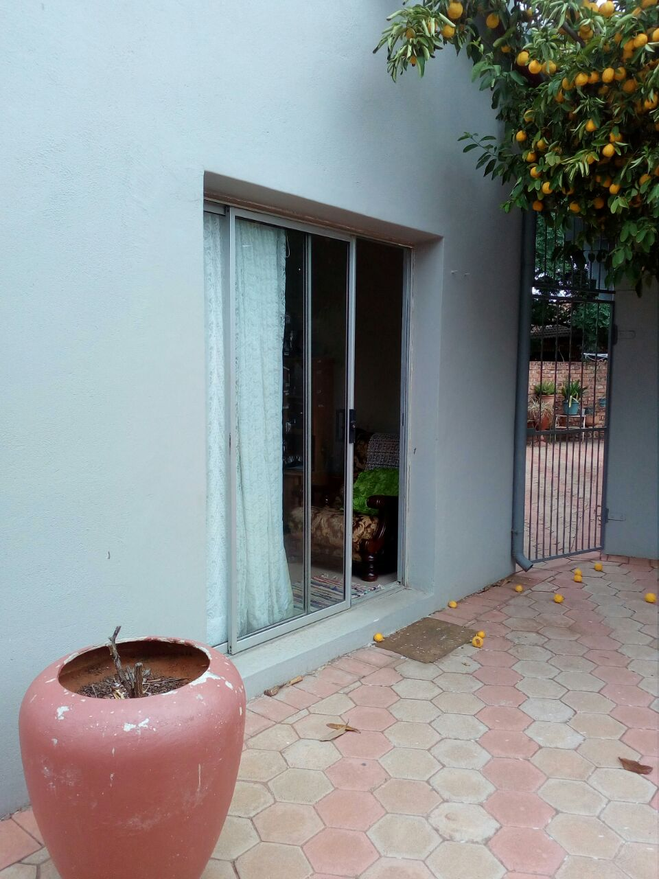 Very large, neat garden flat to let near Gariep hospital