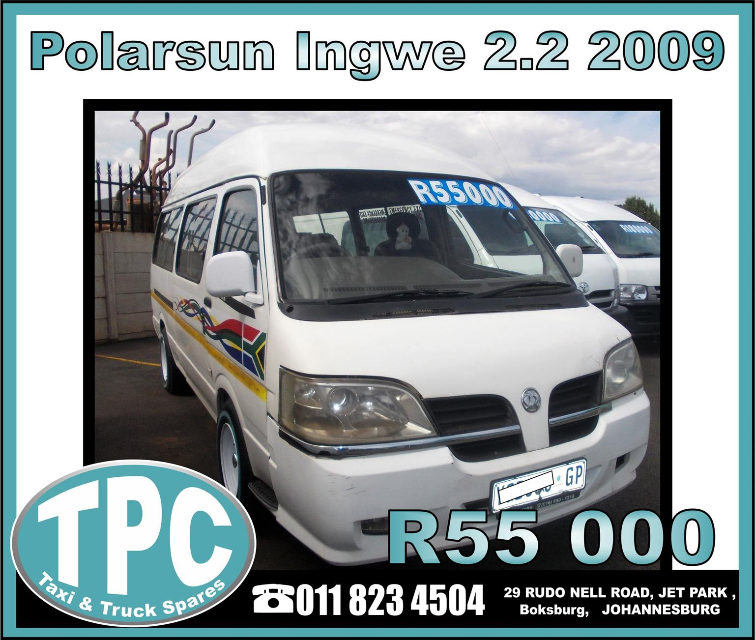 Polarsun Ingwe 2.2 2009 - Good Condition