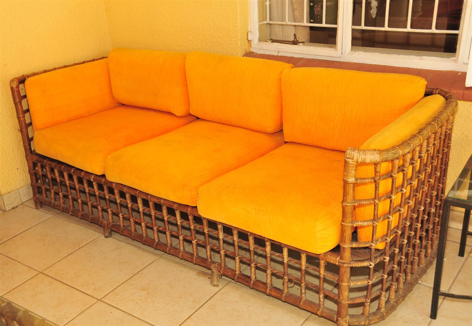 Cane Patio set