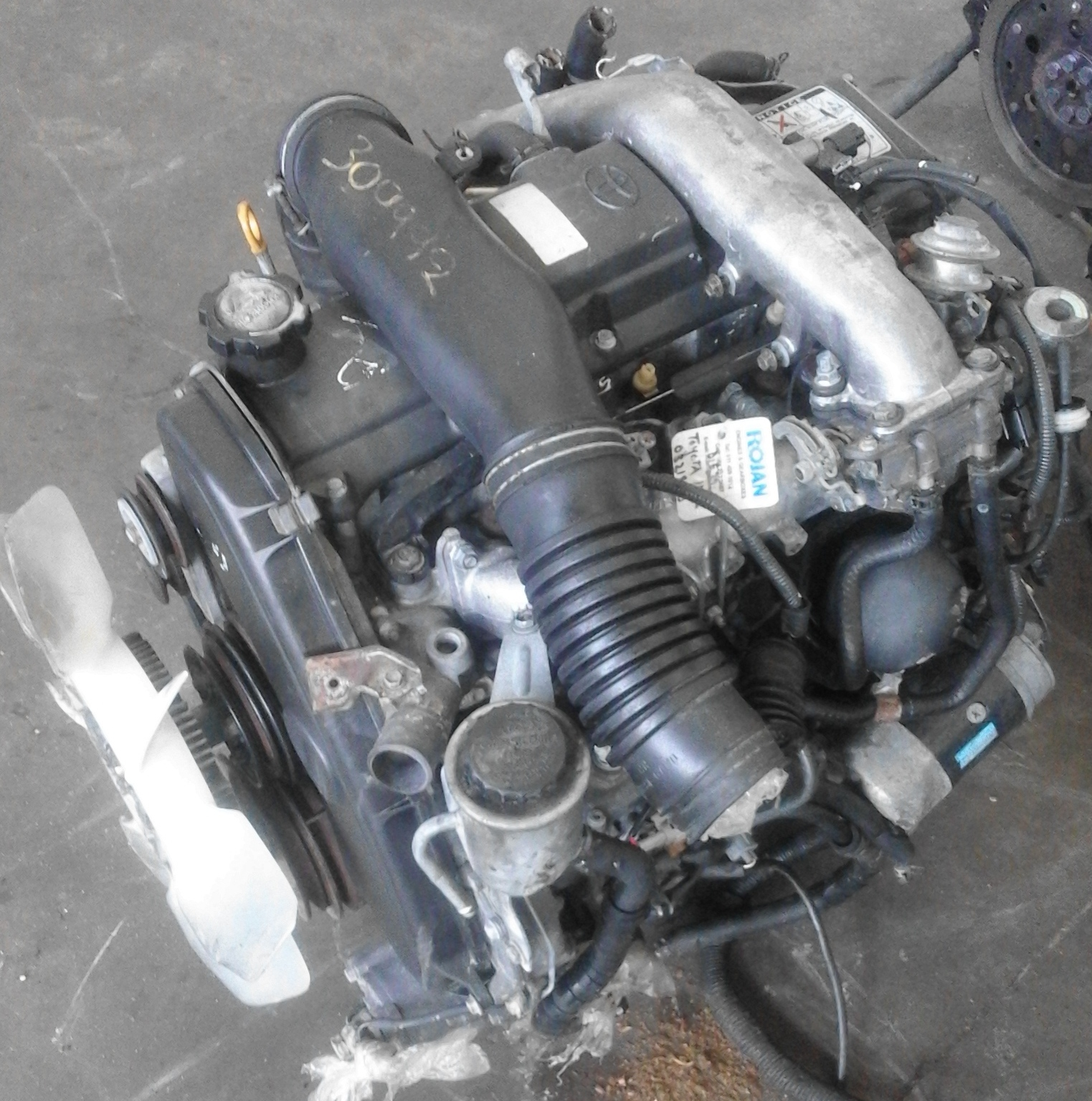 TOYOTA 1KZ KZTE ENGINE FOR SALE | Junk Mail