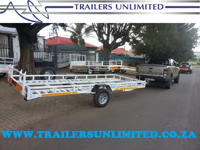 TRAILERS UNLIMITED. SINGLE AXLE CAR TRAILERS.